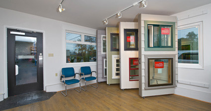 Window and glass showroom in south delta