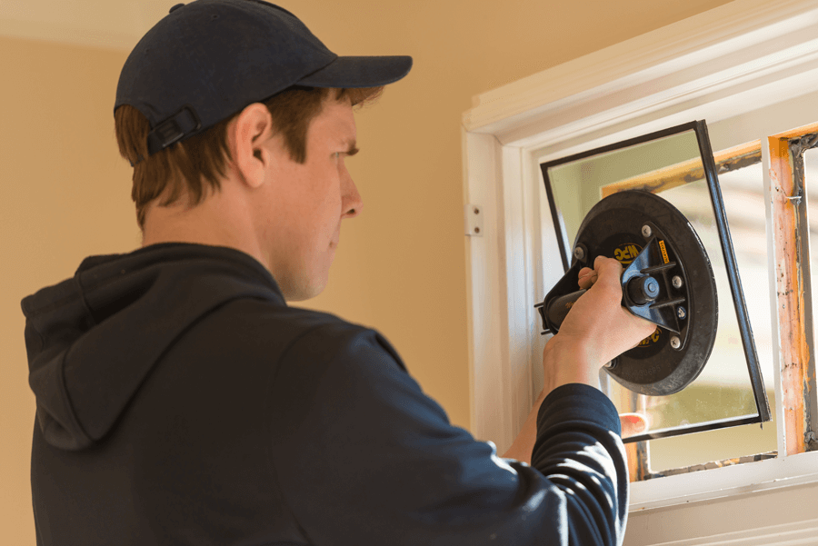 installing sealed glass windows in Delta