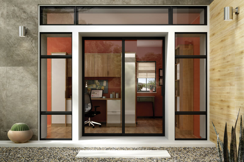 Milgard Aluminum Patio Doors in Delta BC