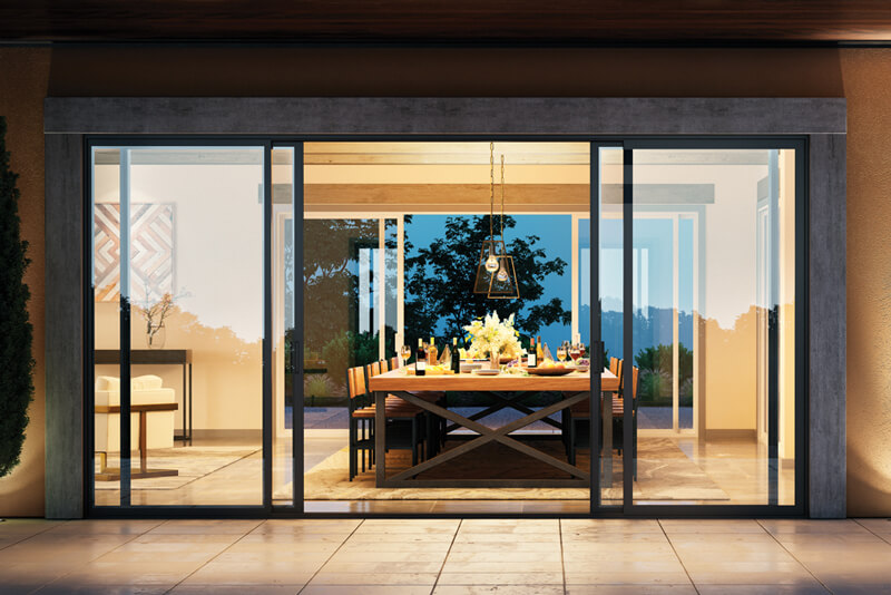Custom Milgard Sliding Patio Glass Doors in Delta BC