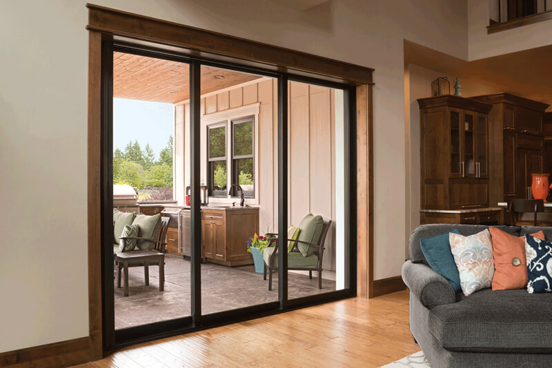 Milgard Vinyl Patio Doors in Ladner BC