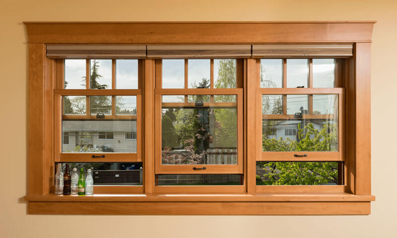 Wood & Fiberglass Windows from Milgard